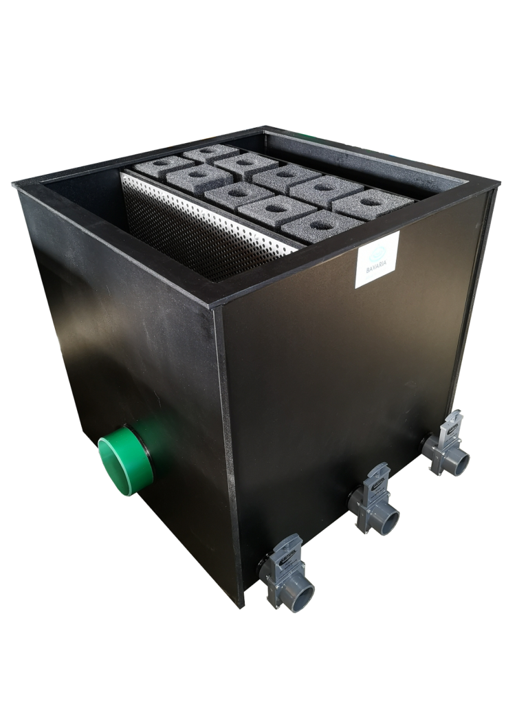 Filteranlage BK Modul Combi Hel-X/Patrone bei Koi and More